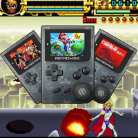 Retro Mini Handheld Game Console Built In 40 Classic Games For GBA GBC Support TF Card