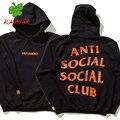 Kanye west черный балахон мода killa brand clothing скейт пот Кофты Агос анти социальные social club KANYSP