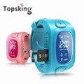 Y3 Crianças GPS Relógio Inteligente com GPS/GSM/Wifi Triplo Posicionamento GPRS Real-tempo de Monitoramento de duas vias chamada SOS para crianças/Crianças OLED