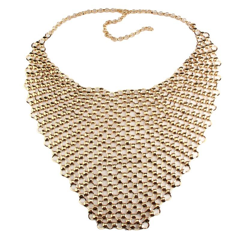 HTB1H8GJJFXXXXXgaXXXq6xXFXXXS Metal Body Necklace Chain Choker Bralette