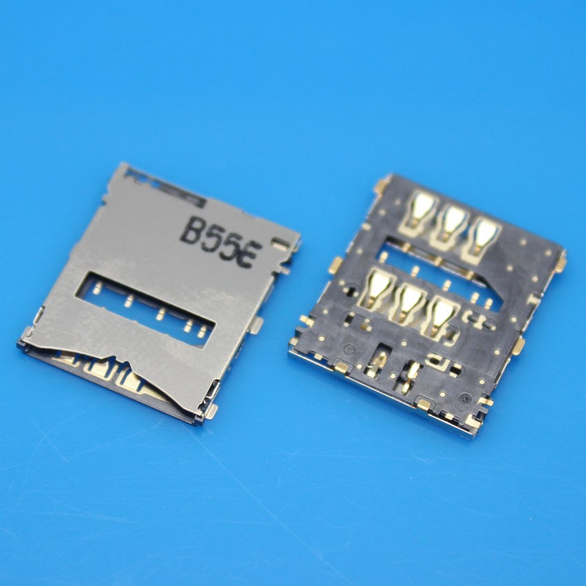 cltgxdd 10pcs/lot For Sony Xperia Z L36H LT36 L36 Sim Card Reader Holder Slot Tray Socket