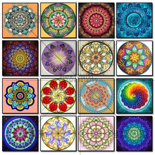 Make Your Own 3d Name Wallpaper Aliexpress Com Buy 5d Diamond Painting Color Mandala