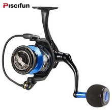 Piscifun Spartan Saltwater Spinning Reel Full Metal Body 20KG Drag Boat Fishing Reel with 13BBs 6.2:1 Gear Ratio