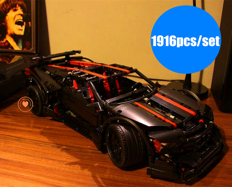 NOUVEAU GPM Technic série Assassin X19 Enfants voiture modèle ajustement legoings technique racer ville Bloc De Construction Briques bricolage Jouet cadeau enfant