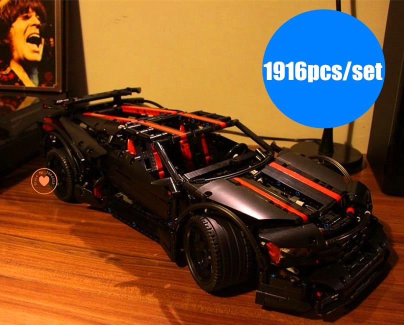 Nouveau MOC Technic série Assassin X19 enfants modèle voiture fit legoings technic racer ville bloc de construction briques bricolage jouet cadeau enfant