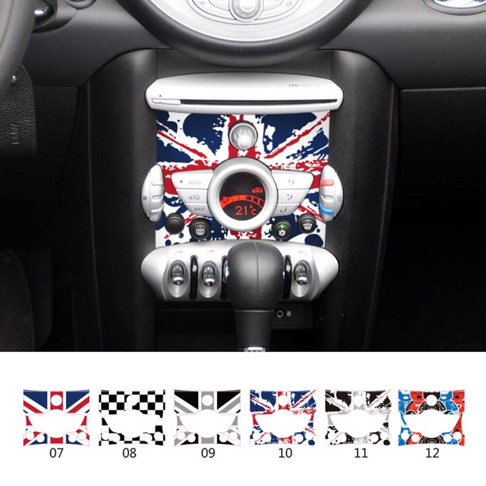 Внутреннее украшение автомобиля, миниатюрная наклейка на панель управления медным купором для миниатюрного медного пейзажа Cabrio Works Coupe Paceman...