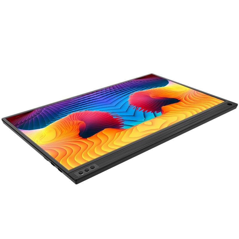 15.6 pouces LCD moniteur Portable ultra mince 1080P IPS HD USB type C affichage pour ordinateur Portable téléphone XBOX commutateur et PS4 moniteur de jeu - 2