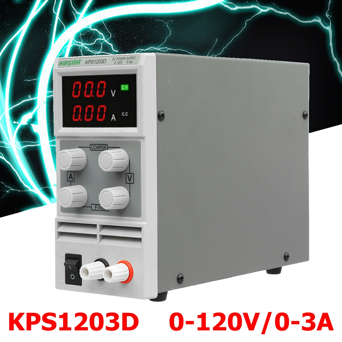 Adjustable Mini Switch Digital DC Power Supply Output 0-120V 0-3A AC110-220V For Lab Notebook Computer Repair EU Plug rps3020d 2 digital dc power adjustable power 30v 20a power supply linear power notebook maintenance