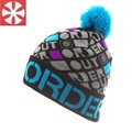 CaiZhongHai / B20 colorful of the small grid pom poms Winter Hats For Women Men Beanie Knit Hats Warm Ski Skullies Beanie Caps