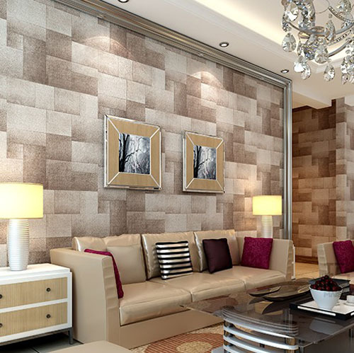 Modern 3d Stone Wallpaper\/papel De Parede 3d Living Room Backdrop   Home  Decor Part 76