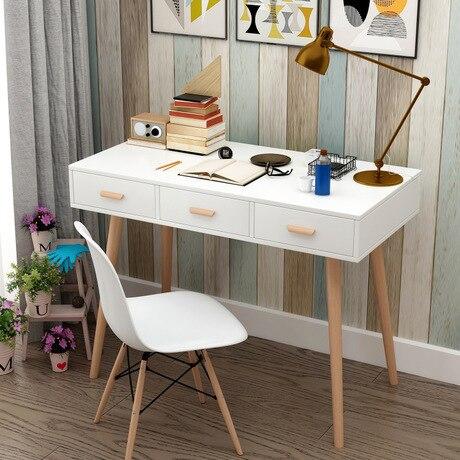 Computer Desks Study Table Home Furniture Solid Wood Laptop Stand Notebook Desk Soporte Ordenar Cajones