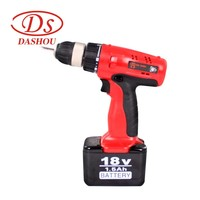 DS Power Tool Electric Screwdriver Power Driver D18DV2 Rechargeable Type Power Gun Tools Household Cordless Mini D