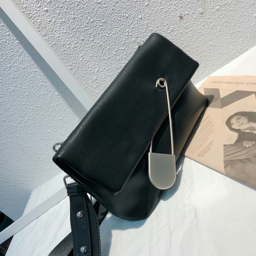 2019 printemps nouveau sac pour femme trombone pochette enveloppe sac Net rouge large bandoulière sauvage épaule Messenger sac