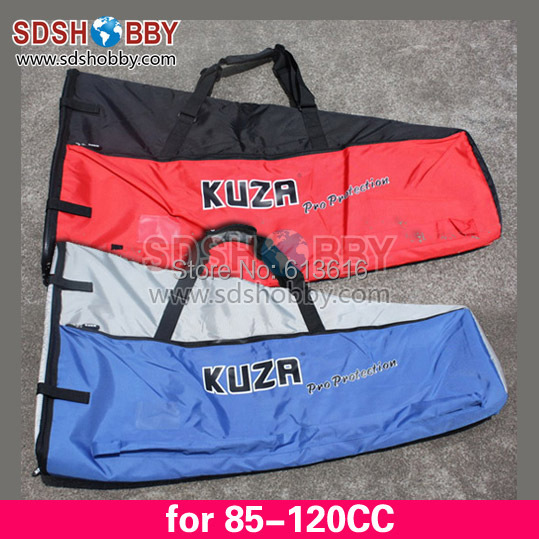 ФОТО New KUZA Protection Wing Bag for 85-120CC Gasoline Airplane-Blue/ Red Color
