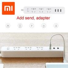 Оригинальный Для Xiaomi Smart мощность разъем Adapte 3 USB расширение Socketr зарядное устройство разъем для Умный дом электроники