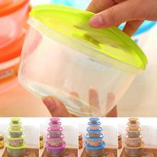 5Pcs/Set Kitchen Sorting Containers Multifunction Transparent Food grade PP Food Storage Box Set  5 Sizes
