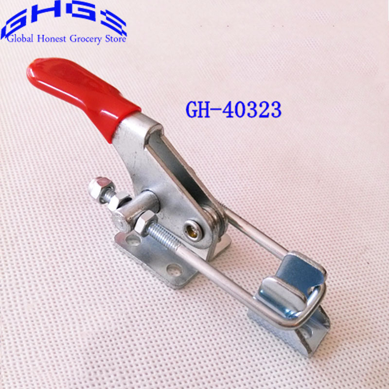 Online Shop Wholesale 2PC New Hand Tool Toggle Cl& Stationary Door Buckle Type Fast Fixture GH-40323 Cl& Woodworking T Type Cl& | Aliexpress Mobile  sc 1 st  AliExpress.com & Online Shop Wholesale 2PC New Hand Tool Toggle Clamp Stationary ... pezcame.com