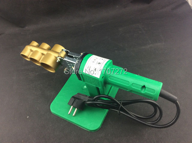 US $22 78 15% OFF|Free Shipping Full Automatic Heating PPR Pipe Welding  Machine, plastic welder AC 220V 600W, 20 32mm welding plastic-in Plastic