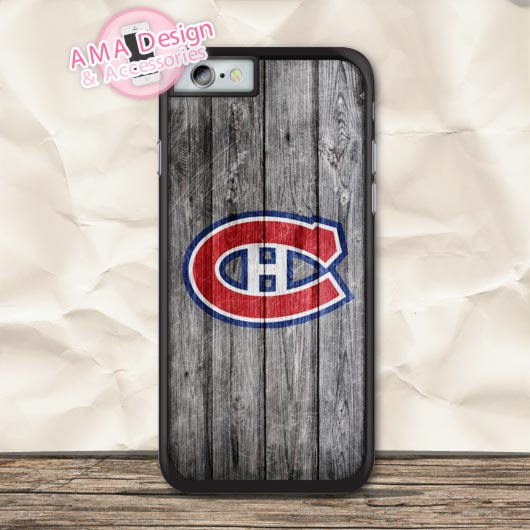 Montreal Canadiens Ice Hockey Fans Case For iPhone X 8 7 6 6s Plus 5 5s SE 5c 4 4s For iPod Touch