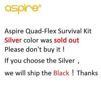 Newest Aspire Quad-Flex Survival Kit 4-in-1 RDTA/RDA/Squonk RDA/Nautilus X Vape Tank Electronic Cigarette RDTA RDA Atomizer 1