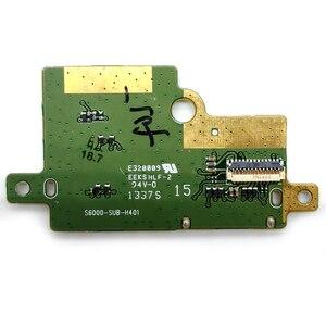 Image 4 - Soporte para lector de tarjetas SIM Lenovo Pad S6000 S6000 S6000H, Conector de ranura flexible, piezas de repuesto para placa de Cable