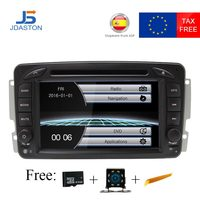 JDASTON HD 1080P 2 Din Car Radio For Mercedes Benz CLK W209 W203 W168 W208 W463 W170 Vaneo Viano Vito Car Multimedia DVD Player