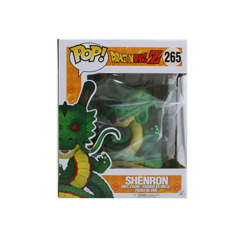 Funko pop 15 cm Anime Dragon Ball SHENRON & SHENLONG Ação PVC Figura Coleção Modelo brinquedos para crianças Presente de aniversário com caixa