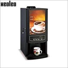 Xeoleo автоматический Кофе машина для ресторана/офис капельного Кофе Maker 2/3 канистра Cafe Американский 820 Вт 220 В черный