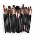 Maange 20 pcs maquiagem cosméticos escova pincel de lábios escova da composição da sombra escova de ouro oval pincel de maquiagem anne
