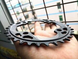 Image 4 - 2019 새로운 94BCD 라운드 34T/36T/38T/40T 사이클링 체인 링 MTB 자전거 체인 휠 크라운 BCD 94 NX GX X1 용