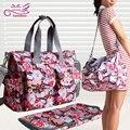 Бесплатная доставка Новый дизайн детские пеленки сумки для мамы детские путешествия подгузник сумки Bebe организатор коляска мешок по беременности и родам