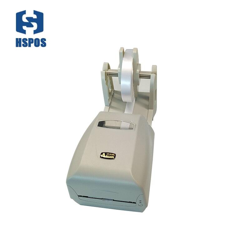 Merveilleux à laver marque solution d'impression Argox CP-3140 imprimante code à barres de haute qualité support de papier étiquette installé ruban