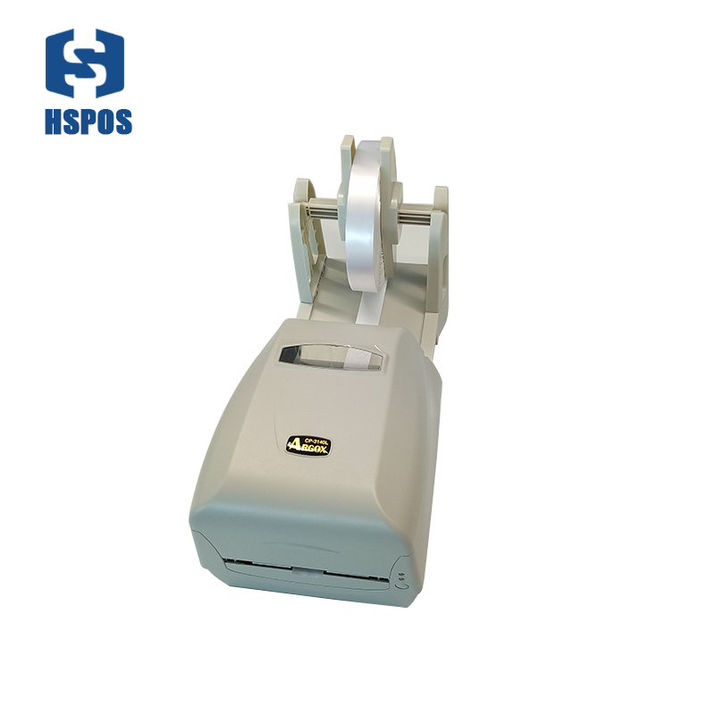 Wonderful washing mark printing solution Argox CP 3140 barcode printer high quality paper holder label installed ribbon