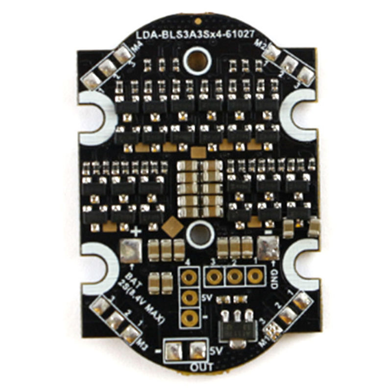 New Arrival Kingkong 90GT Spare Part 3A Blheli_S Dshot 600 4 In 1 2-4S Brushless ESC For RC Multirotor Motor RC Toys Parts original aosenma cg035 rc quadcopter spare part gps receiver board for rc models toys multirotor transmission accs