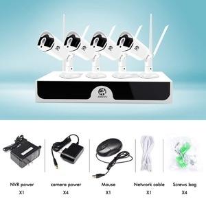 Image 2 - Jooan מערך HD בית WiFi אלחוטי אבטחת מצלמה מערכת 8CH NVR ערכת 1080P CCTV WIFI חיצוני מלא HD NVR ערכת מעקב H.265