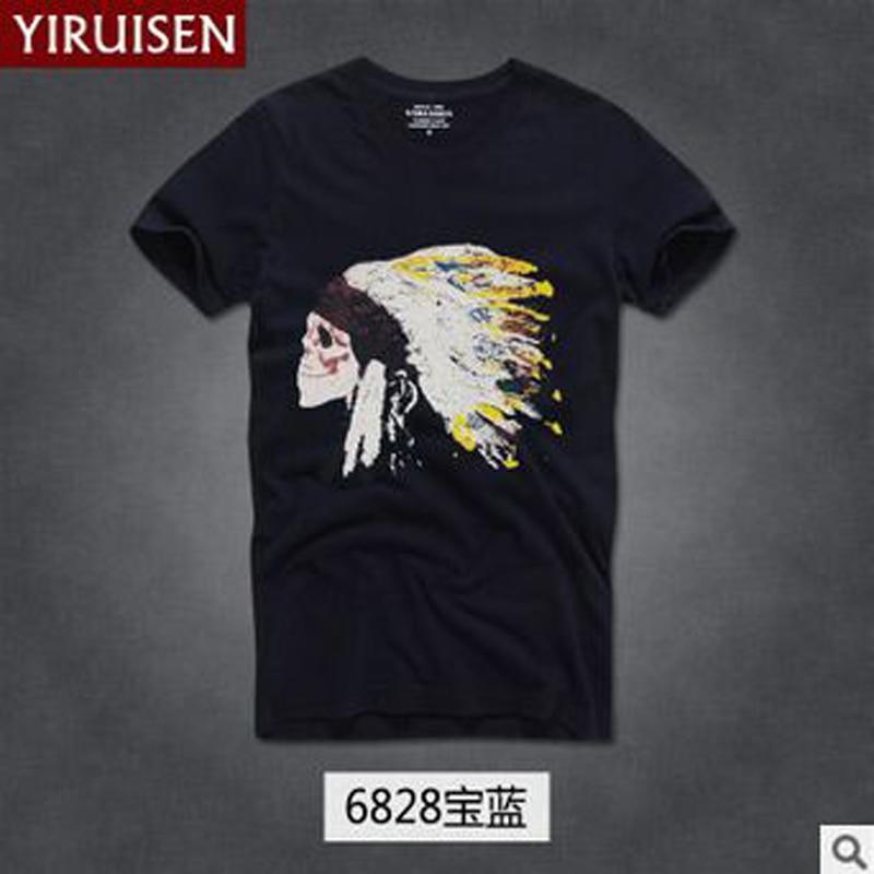 TOP Kwaliteit AF Anjoy & Fitch merk Casual T-shirt 100% katoen Tops & - Herenkleding - Foto 3