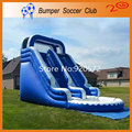 Free shipping ! Free Pump ! Outdoor Commercial Inflatable Water Slide with Pool,Used Playground Water Slide For Kids and Adult