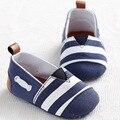 0-18 Месяцев Новорожденный Девушка Обувь Полосатый Дети Малышей Детская Кровать В Обуви Мягкой Подошве Первые Ходунки Мальчиков Тапки обувь Мокасины