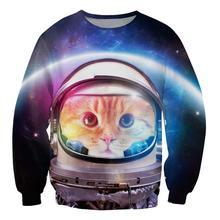 Space Cat Odyssey Sweatshirt