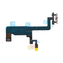 OOTDTY Phone Repair Parts Power Button On Off Connector Ribbon Flex Cable For iPhone 6