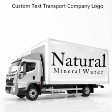 Fashion Custom Transport Logo Car Decals Vinyl Mural Windows Stickers For Sentence Decorative naklejki
