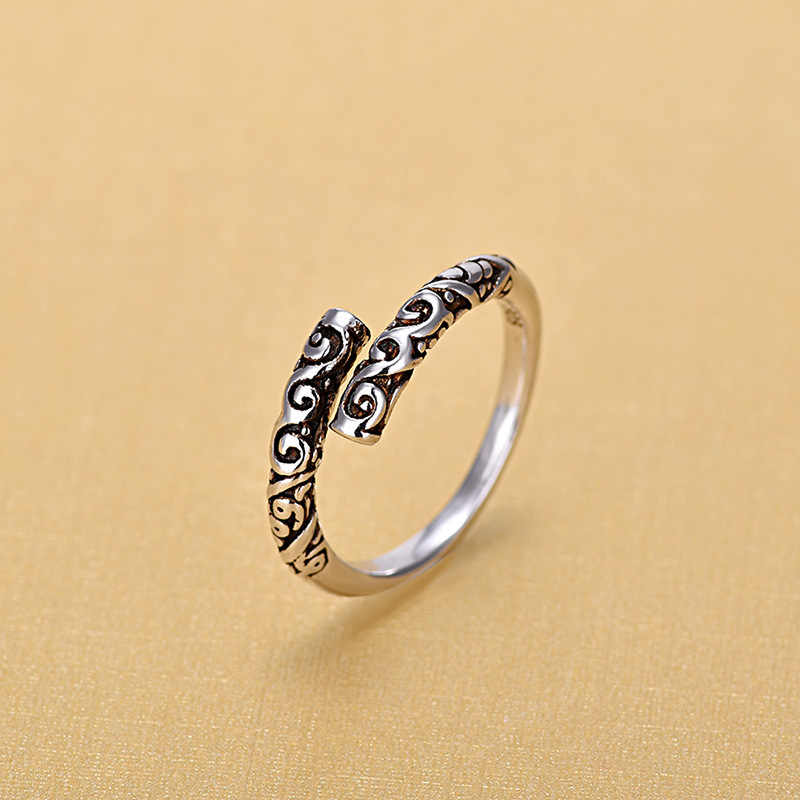 2019 New Arrivals Imitation Thai 925 Sterling Silver Rings for Women Ring Fashion Sterling Silver Jewelry