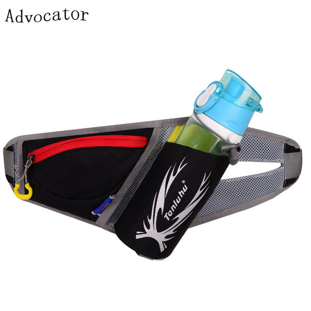 Advocator  Nylon Large Capacity Men Waist Bag Travel Solid Color Waist Belt Bag Multifuntional Portable Casual Waist Leg Bag