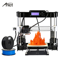 Updated Anet A8 3d Printer Diy Large Printing Size Precision Reprap Prusa I3 DIY 3D Printer