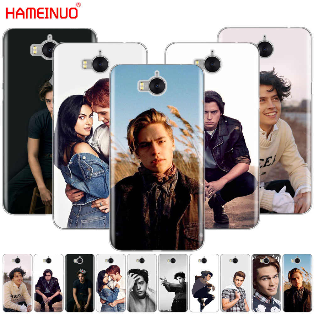 HAMEINUO American TV Riverdale Cole Sprouse cell phone Cover Case for huawei honor 3C 4X 4C 5C 5X 6 7 Y3 Y6 Y5 2 II Y560 2017
