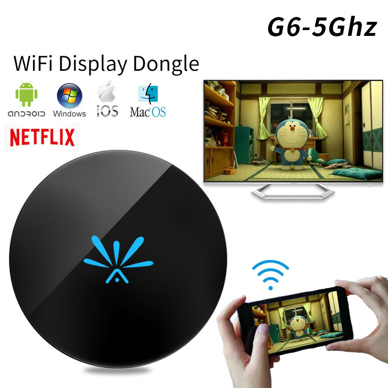 5g Draadloze Wifi Tv Stick Dongle 1080 P Hd Miracast Tv Stick Smart Tv Dongl Airplay Mirroring Voor Android Ios Naar Hdtv Projector Non-Strijkservice