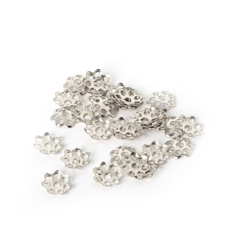 US $1.05 10% OFF|New Products 1000 pcs 6mm Metal Jewelry Findings Plated Colour Flower Bead Caps FDA020 01-in Jewelry Findings & Components from Jewelry & Accessories on Aliexpress.com | Alibaba Group