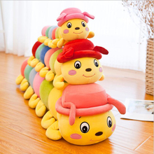 цена на New Creative Cute Caterpillar Short Plush Toys Stuffed Animal Doll Toy Soft Plush Pillow Children Birthday Gift