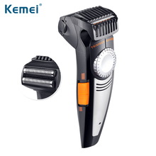 Kemei 2 in 1 Multifunction Men Electric Shaver And Hair Trimmer 100-240V 19 Settings Cutting Length Ajustable Shaver Razor 819