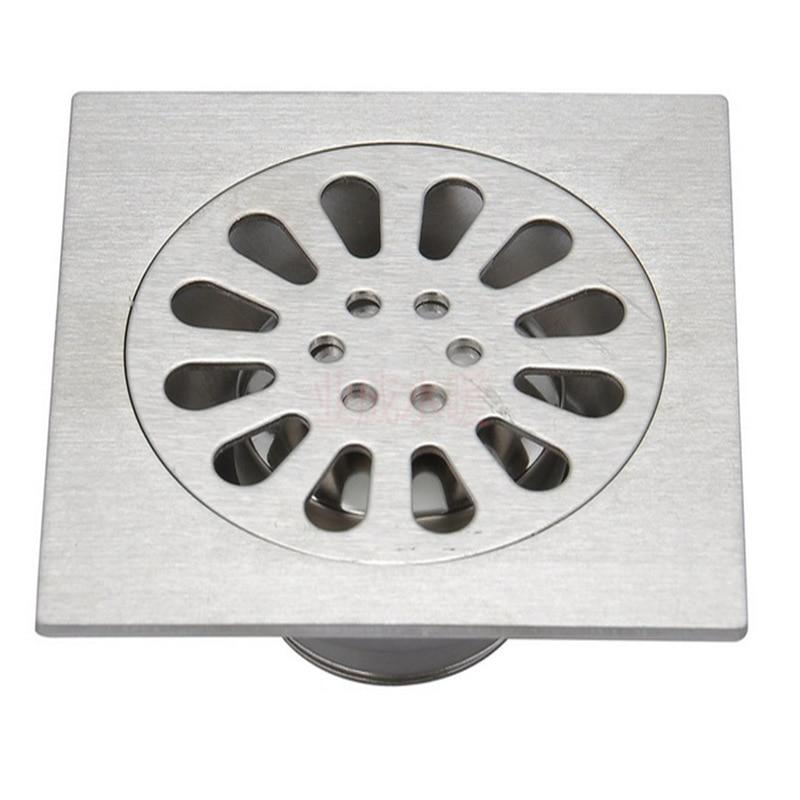 Drains floor drain linear shower floor drains bathroom for Ground drain
